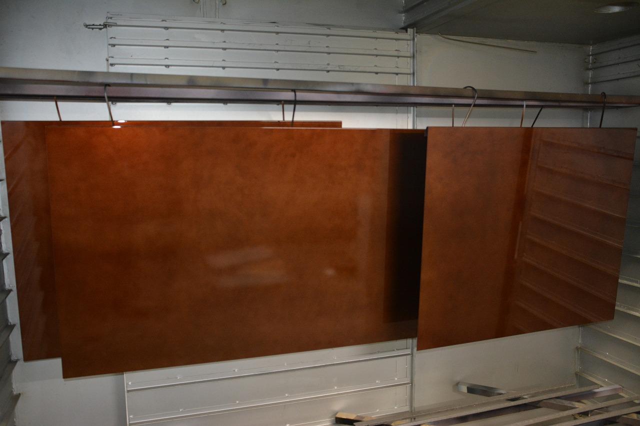 銅板腐食風塗装